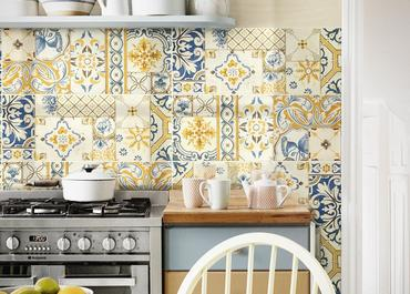 Candy Ragno: tiles