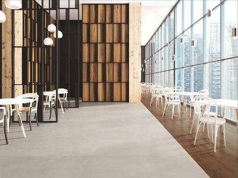 Re_Solution, the collection that translates the soft feel of resin into porcelain stoneware