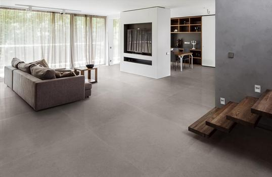 Realstone Rain, the Ragno collection designed around greige, the perfect neutral shade for architecture