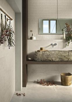 Ritual: the large-size slimline porcelain stoneware with inspiration from nature